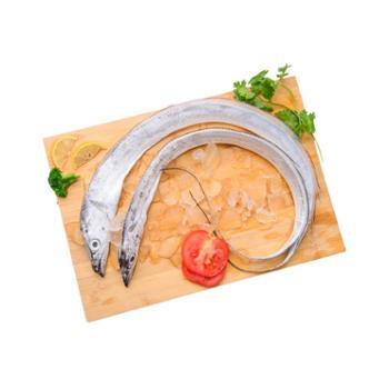 摩时渔鱼野生海捕带鱼条带舟山特产冰鲜海鲜春季时令小眼睛雷达网带鱼1斤装(2-3条)