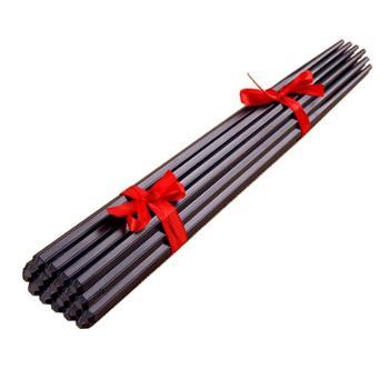 高级家用酒店筷子厂家防滑消毒公司不发霉饭店合金筷子