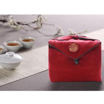 苍松六堡茶六十周年典藏套装熟茶老茶梧州茶叶黑茶散装特级广西
