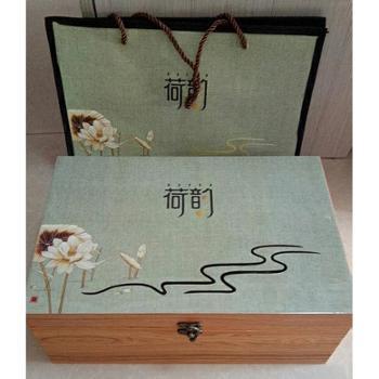 单芽龙顶特级绿茶礼盒装360g
