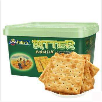 茱蒂丝 奶油苏打奶盐饼干 500g