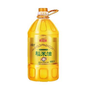 金龙鱼谷维素双一万稻米油 5L