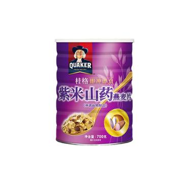 中国台湾 桂格即食紫米山药燕麦片 700g