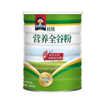 中国台湾 桂格五谷杂粮营养全谷粉黑芝麻风味 600g