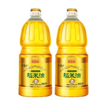 金龙鱼双一万稻米油 1.8L*2