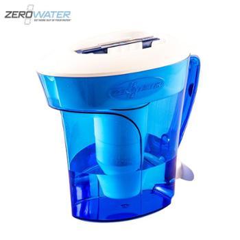 zerowater零水 家用直饮净水机自来水过滤器净水壶 10杯净水壶带TDS测试笔