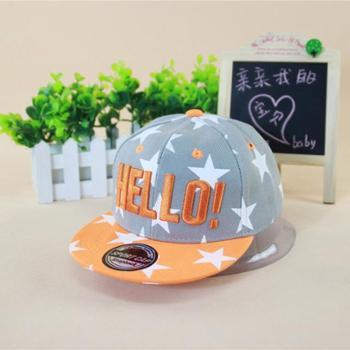 韩版儿童宝宝嘻哈帽子 男童女童BOY棒球帽 夏季遮阳街舞鸭舌帽潮