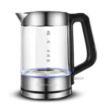 荣事达GL1800H玻璃电热水壶烧水壶器家用透明全自动大容量开水壶电壶