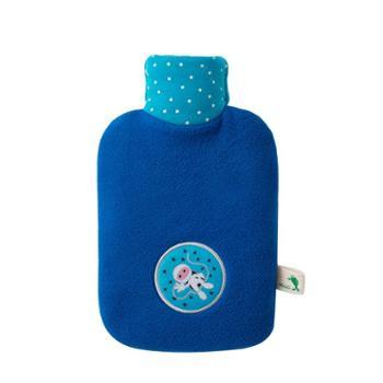 HUGOFROSCH德国进口热水袋注水暖水袋暖手袋0.8L