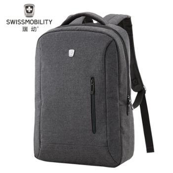 瑞动(SWISSMOBILITY)双肩包男女休闲旅行包电脑背包大中学生大容量休闲书包MT-5918