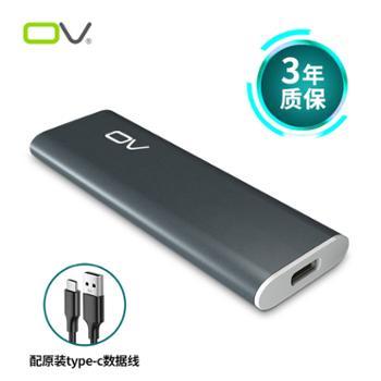 OV固态移动硬盘128g256g512g1t高速SSD外置系统盘Mac存储WTG激光定制盘