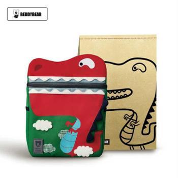 韩国杯具熊儿童书包幼儿园小学男童女童创意卡通减重防水双肩背包