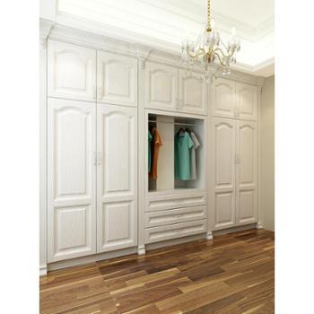 衣柜红橡实木衣柜定制卧室衣柜家具