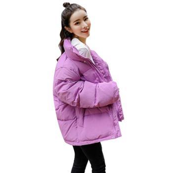 垂柳冬天棉袄女新款韩版短款棉衣ins棉服加厚面包服学生冬季外套1169-891