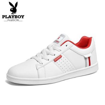 花花公子男鞋春季休闲板鞋韩版男士运动鞋学生小白鞋子男潮鞋