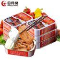 台湾日月棠红烧鳗鱼罐头100g*6罐 即食海鲜熟食品罐头