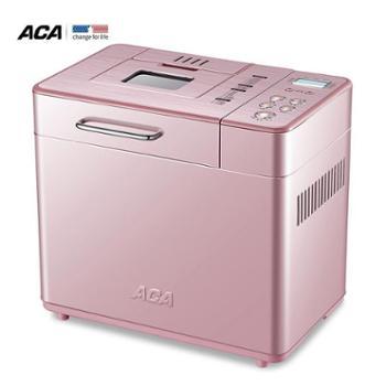 北美电器(ACA)面包机全自动家用撒果料和面19种菜单高清LED显示屏窖烤BJT15W