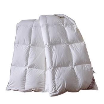缦缨羽绒被-全棉仿羽不跑毛方格(送PU皮包)150*200cm5斤左右