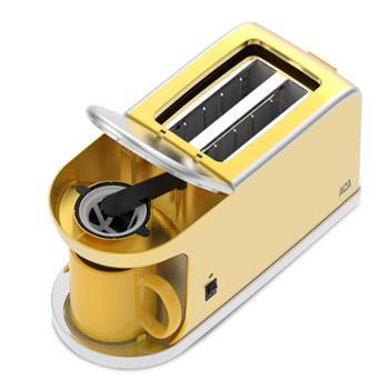 ACA/北美电器 咖啡机 早餐伴侣 滴漏式咖啡机 速溶 高温加热