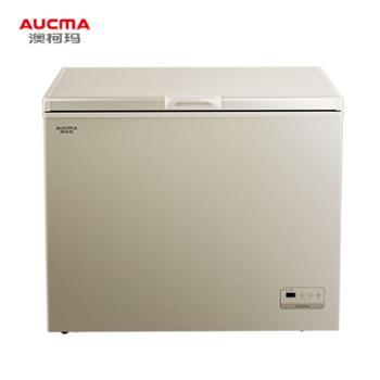 澳柯玛(AUCMA)232升冷柜家用商用风冷无霜冰柜冷藏冷冻转换卧式顶开门冰箱BC/BD-232WD