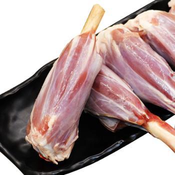 额尔敦 羊小腿4.8斤内蒙古生羊肉新鲜烧烤食材烤羊腿羊后腱
