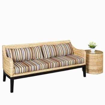 藤沙发组合客厅藤条沙发实木藤编沙发家具客厅藤椅沙发二三人位