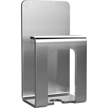 一款 304不锈钢牙刷架漱口杯架吸壁式卫生间置物架免打孔壁挂 2个装