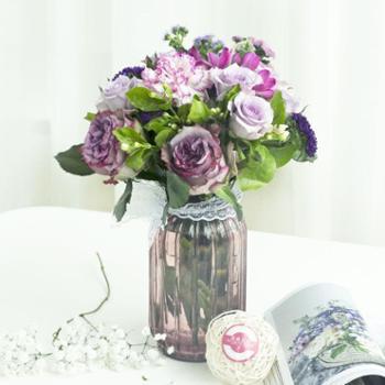 【扶贫鲜花】臻享格调|4束包月|5~6种花材|