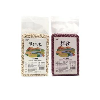 内蒙古赤峰添慈 农家杂粮红豆薏仁米组合(红豆470g+薏仁米410g)