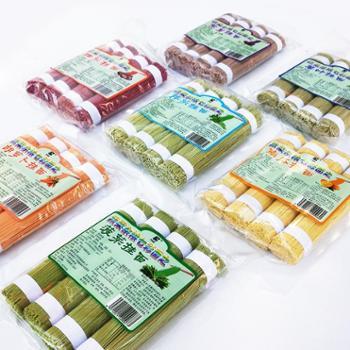 礼尚客蔬菜杂粮面400g七种蔬菜口味零色素零添加