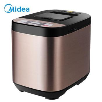 美的(Midea)面包机早餐机烤面包机和面机多功能可预约全自动家用双撒料智能面包机ESC1510