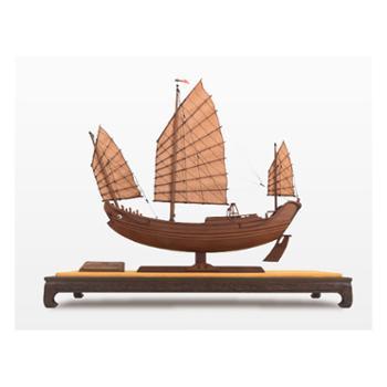 中国航海博物馆船模仿真创意摆件礼品一帆风顺鸟船