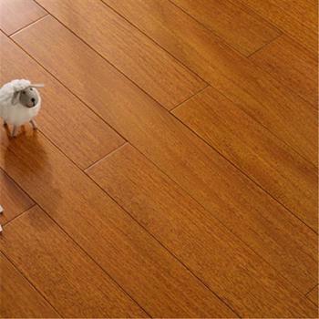 纯实木地板进口圆盘豆原木锁扣地热暖家用环保耐磨两色可选910*123*18mm