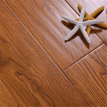白橡木全纯实木地板进口仿古浅本色复古卧室家装原木北欧厂家直销X1011㎡