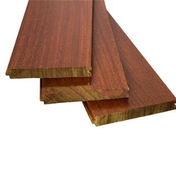 欢韵纯实木地板 橡木 胡桃色 卧室地板家用 910*125*18mm