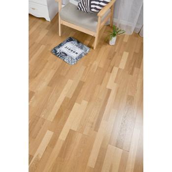 新三层多层实木地板橡木地热暖地板/锁扣本灰色
