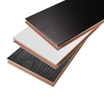 纯实木地板仿古18mm环保耐磨进口原木地板
