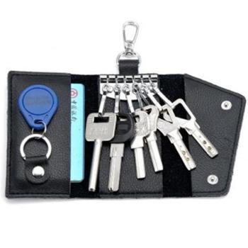 ZHUOMULIAN年新款汽车钥匙包真皮腰挂LG-503