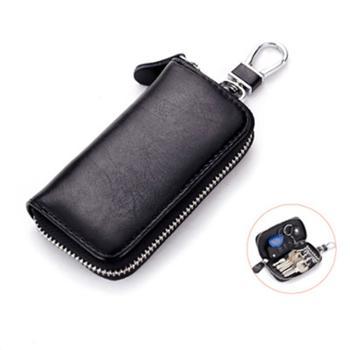 钥匙包男士真皮拉链多功能汽车钥匙包女商务锁匙包CL-930