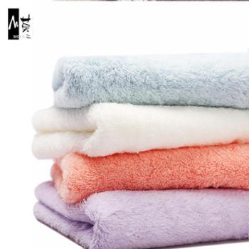 2条装毛巾家用50支无捻纱