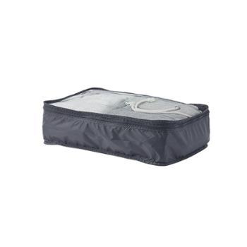 网易严选梭织布可折叠旅行收纳包中款单层黑色