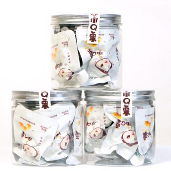 罗田小Q栗即食板栗仁休闲零食坚果罐装150克*3罐