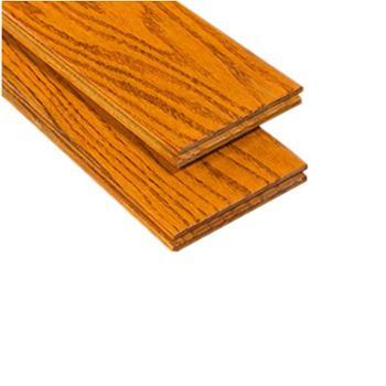 伐木时光 番龙眼纯实木地板 仿古浅色