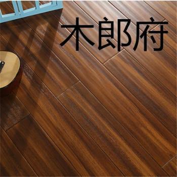 木郎府圆盘豆实木地板