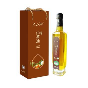 大三湘浓香有机山茶油500ml