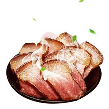镇巴特产镇巴腊肉五花肉农家烟熏制500g真空袋装