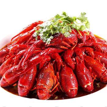 湖北洪湖十三香4-6钱中号小龙虾净虾2斤熟食油焖大虾顺丰发货