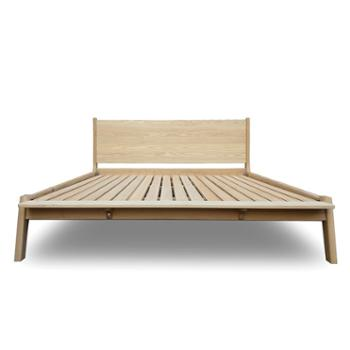 北欧实木床 1.8双人简约设计床
