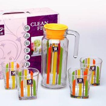 艾格莱雅 彩虹水具五件套 玻璃水杯
