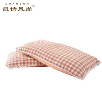 凯诗风尚维拉荞麦枕色织全棉成人单只装48*74cm